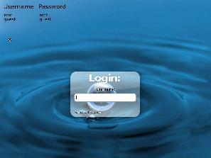 TinyMe login view