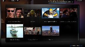 XBMC videos menu