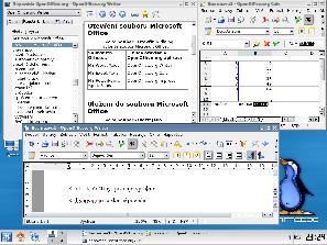 OpenOffice in Danix