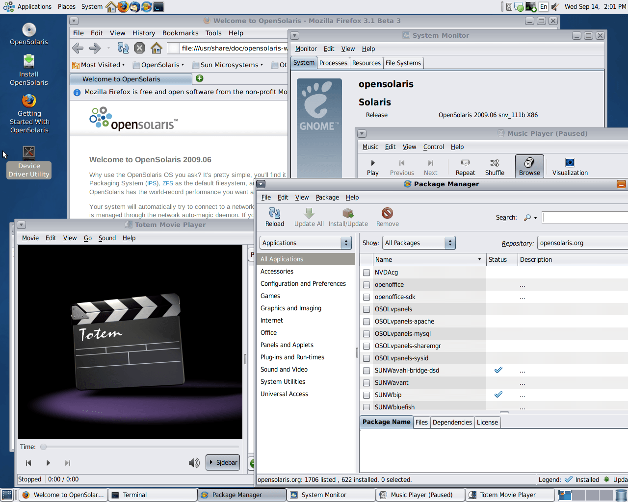 OpenSolaris   OS Archive
