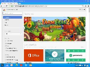 Chrome web store in Cub Linux