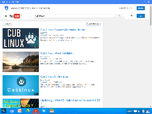 Youtube in Cub Linux