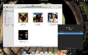 Music player in elementary OS